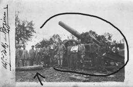 Armée Française  Artillerie Longue Portée Canon  Tube Cassé 14-18 - Krieg, Militär