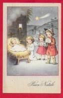 CARTOLINA VG ITALIA - BUON NATALE - Adorazione Di Gesù Bambino - VETTA - 9 X 14 - 1945 TORINO - Altri