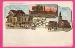 CPA  (Réf: Z 2411) (ALLEMAGNE) GRUSS AUS RICKINGEN Bei Hannover - Allemagne