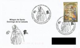 SPAIN. POSTMARK SANTO DOMINGO DE LA CALZADA. 2016 - España