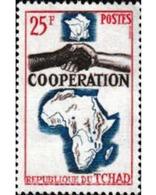 Ref. 605093 * MNH * - CHAD. 1964. COOPERATION . COOPERACION - Ciad (1960-...)
