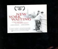 New York Waiting Citrus Suède Sweden Film Movie - Affiches Sur Carte