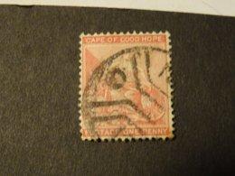 COLONIE DU CAP  GRANDE BRETAGNE  Super Oblitération - África Del Sur (...-1961)