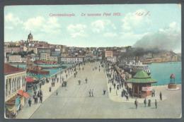 TURQUIE  CONTANTINOPLE...ISTAMBUL.. PROCURE DES FRERES DE ECOLES CHRETIENNES...ANIMEE..  LE NOUVEAU PORT..C3298 - Turkey