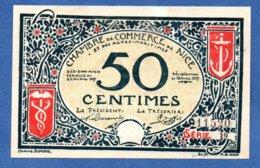 Nice   - 50 Centimes    -- état  SUP - Chambre De Commerce