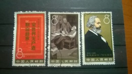 China 1963 The 145th Anniversary Of The Birth Of Karl Marx - 1949 - ... Volksrepublik