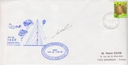 Polaire Néozélandais, N° 853 (kiwi) Obl. Christchurch Le 31 OC 85 + Cachet IAGO 85-86 Et Raid Nov.85/Fev.86 - Covers & Documents