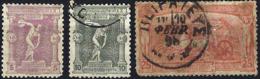 GREECE 1896 Olympics 5l Mint +10l, 25l Used - 1896 First Olympic Games