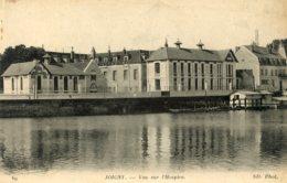 B59315 Cpa Joigny - Vue Sur L' Hospice - France