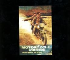 The Motorcycle Diaries Avant Card Australie 2004 Carte Prédécoupée à Monter Usa  Film Movie - Affiches Sur Carte