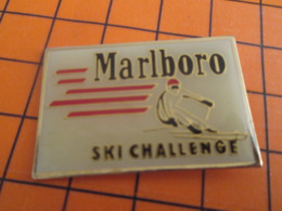 119 Pin's Pins : BEAU ET RARE : Thème SPORTS / MARLBORO SKI CHALLENGE - Wintersport