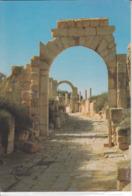 LIBYAN ARAB JAMAHIRIYA - Arch Of Trajan   Nice Stamp - Libye