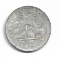 Belgique 50 Francs 1950 FL - Argent - 05. 50 Francs