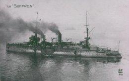 MARINA FRANCESE - INCROCIATORE CORAZZATO SUFFREN - SHIP SHIFF BATEAU - Warships