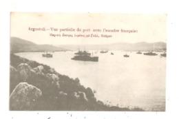 Argostoli-Vue Partielle Du Port Avec L'escale Française- -(D.3249) - Grèce