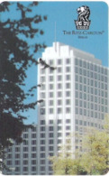 GERMANIA  KEY HOTEL   The Ritz-Carlton Berlin - MONT BLANC - Cartes D'hotel