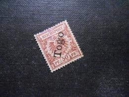 D.R.6  50Pf  Deutsche Kolonien (TOGO) 1897 -  Mi 45,00 € - Colony: Togo