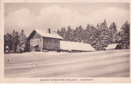 67-HAZEMANN- MAISON FORESTIÈRE ROTLACH - Frankrijk