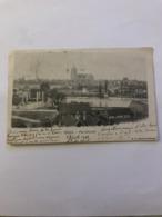 CPA SIMPLE CIRCULEE EN 1902 DOLE VUE GENERALE - Dole