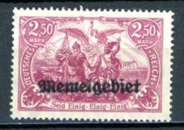 DE   Memel    ---    Y&T       X       Mi   13      ---     TB - Klaïpeda
