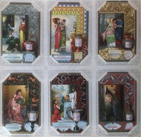 Figurine Liebig Italia Sang. 812 - Emozioni - 1905 (una Difettosa) - Liebig