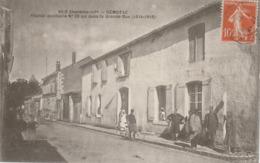 Gémozac : Hôpital Auxiliaire N°26 Bis Dans La Grande Rue (1914-1915) - Ww1 - Otros Municipios