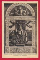 CARTOLINA VG ITALIA - Pala Di S. Girolamo Dottore Di PRE SEBASTIANO - Chiesa Cattedrale ASOLO - 9 X 14 - 1965 - Pittura & Quadri