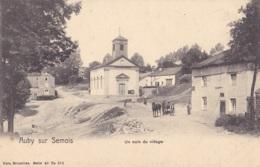 Auby Sur Semois Un Coin Du Village Nels Série 40 N° 275 Circulée En 1909 - Bertrix