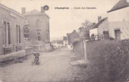 Champion Ecole Des Garçons - Belgique