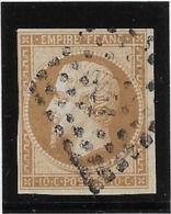 France N°13B - Type II - Oblitéré - TB - 1853-1860 Napoleon III