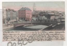 IRLANDE EIRE - CP COLORISEE NORTH GATE, BRIDGE CORK - CORCAI5 - CIRCULEE EN 1902 - Cork