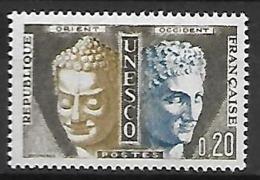 FRANCE   -   Timbres De Service  -  1960 .  Y&T N° 22  ** .  UNESCO - Neufs
