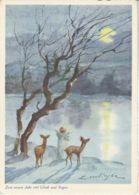 Postcard - ART - Zum Neuen Jahr Viel Gluck Und Segan  - Card No..206 Unused  Very Good - Unclassified