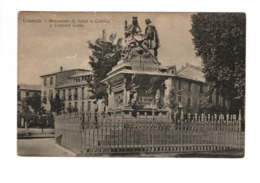 GRANADA - Monumento De Isabel La Catolica Y Cristobal Colon - Granada
