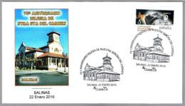 75 Años IGLESIA NUESTRA SEÑORA DEL CARMEN. Salinas, Asturias, 2016 - Iglesias Y Catedrales