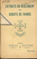 Scouts De France  Réglement   1927 - Scoutisme
