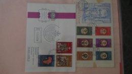 Dispersion D'une Collection D'enveloppe 1er Jour Et Autres Dont 180 Du VATICAN - Colecciones (en álbumes)