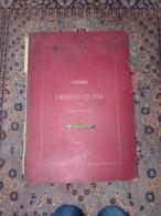 Rare Atlas Des Chemins De Fer De 1859 Napléon Chaix 17 Cartes Dont Russie France Etats-Unis Etc Voir Description ! - Wegenkaarten