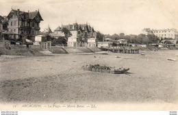 D33  ARCACHON  La Plage- Marée Basse  ..... - Arcachon