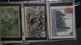 Dispersion D'une Collection D'enveloppe 1er Jour Et Autres Dont 160 De France - Briefmarken