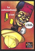 CPM Banania Par Jihel Tirage Limité En 30 Exemplaires Numérotés Signés Colonialisme Négritude Pot De Chambre - Events