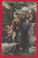 CARTOLINA VG ITALIA - BUON NATALE - Sacra Famiglia - SAEMEC 192 - 9 X 14 - 1962 CALTAVUTURO - Altri