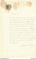 Coquelin Aîné Lettre Autographe Signée Ruys Blas Sarah Bernhardt - Autógrafos