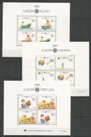 PORTUGAL - MNH - Europa-CEPT - Children - 1989 - Europa-CEPT