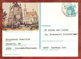 P 124 Burg Eltz, Abb Kiedrich, Nach Hamburg 1977 (81254) - BRD