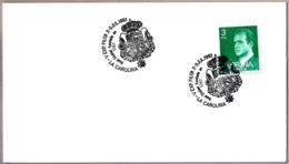Matasellos V EXPO. FILATELICA - REAL CIUDAD FUNDADA EN 1767. La Carolina, Jaen, Andalucia, 1983 - Briefe U. Dokumente