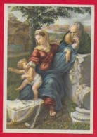 CARTOLINA VG ITALIA - BUON NATALE - Sacra Famiglia - SAEMEC 192 - 9 X 14 - 1960 UDINE - Altri