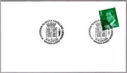 Matasellos VI EXP. FILATELICA CASTELLANO LEONESA. Miranda De Ebro, Burgos, 1983 - Briefe U. Dokumente