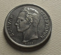 1977 - Vénézuela - 5 BOLIVARES - Y 53.1 - Venezuela