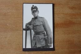 Cabinet Armée Suisse Vers 1910 1914 N  Shako Et Baïonnette  Identifié - Oorlog, Militair